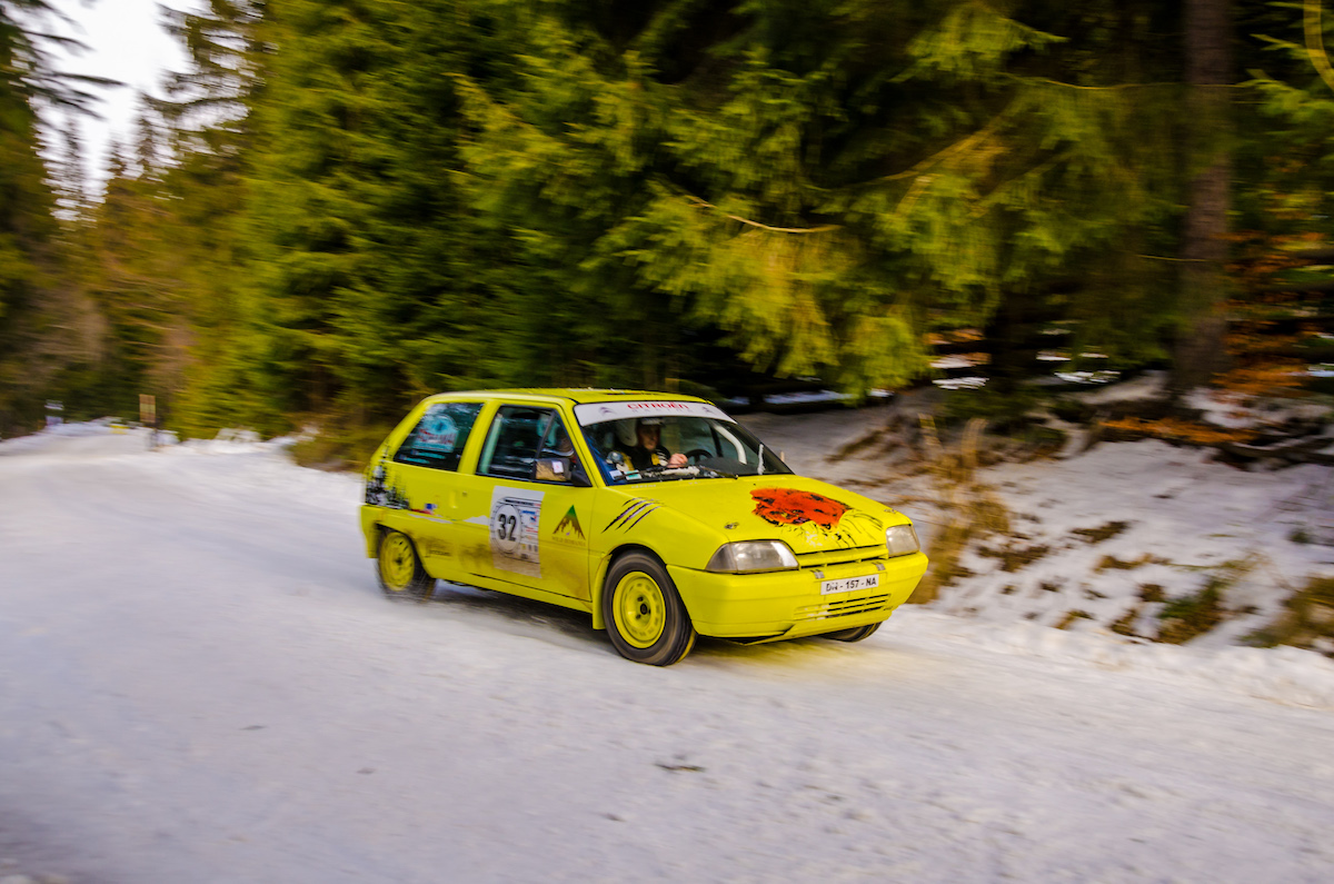 Romania Historic Winter Rally - ziua 2 camera 1 - 0880