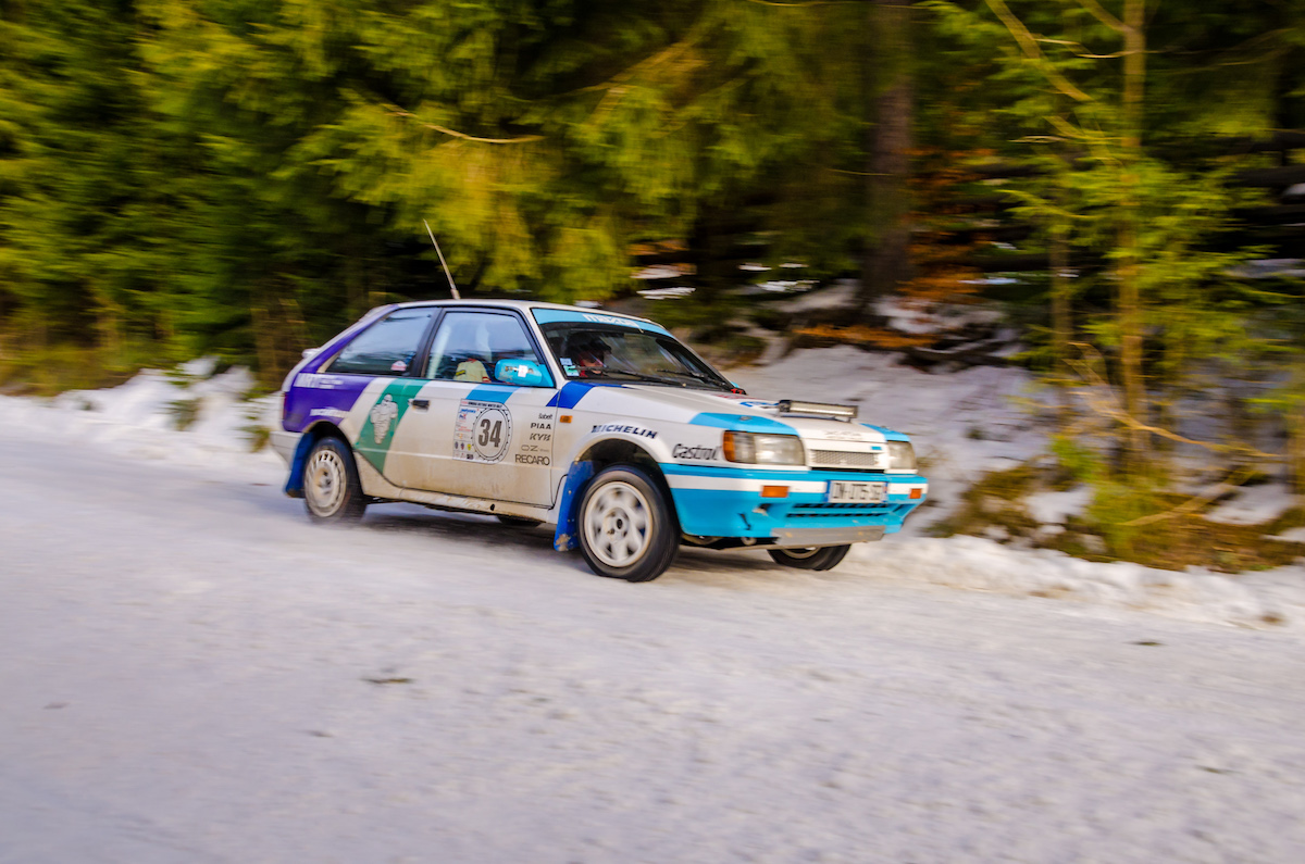 Romania Historic Winter Rally - ziua 2 camera 1 - 0915