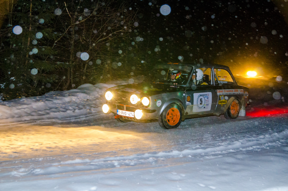 Romania Historic Winter Rally - ziua 2 camera 1 - 1453